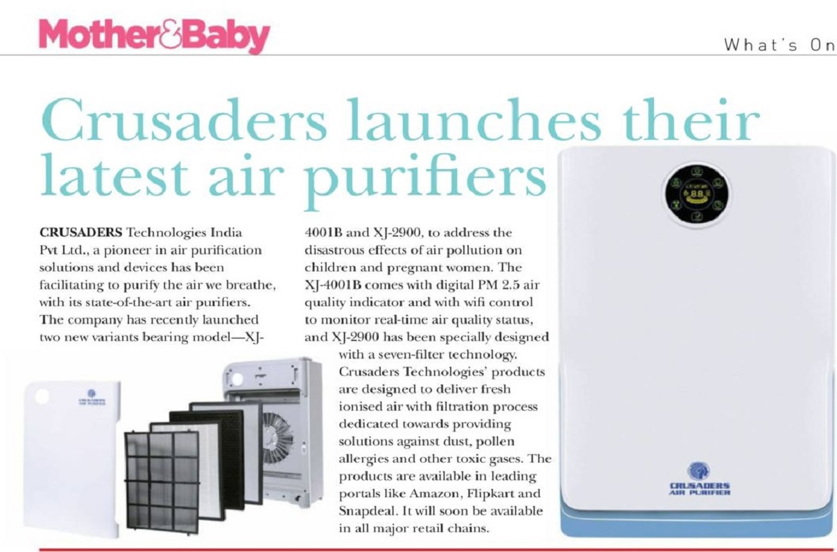 air purifier Feature Title